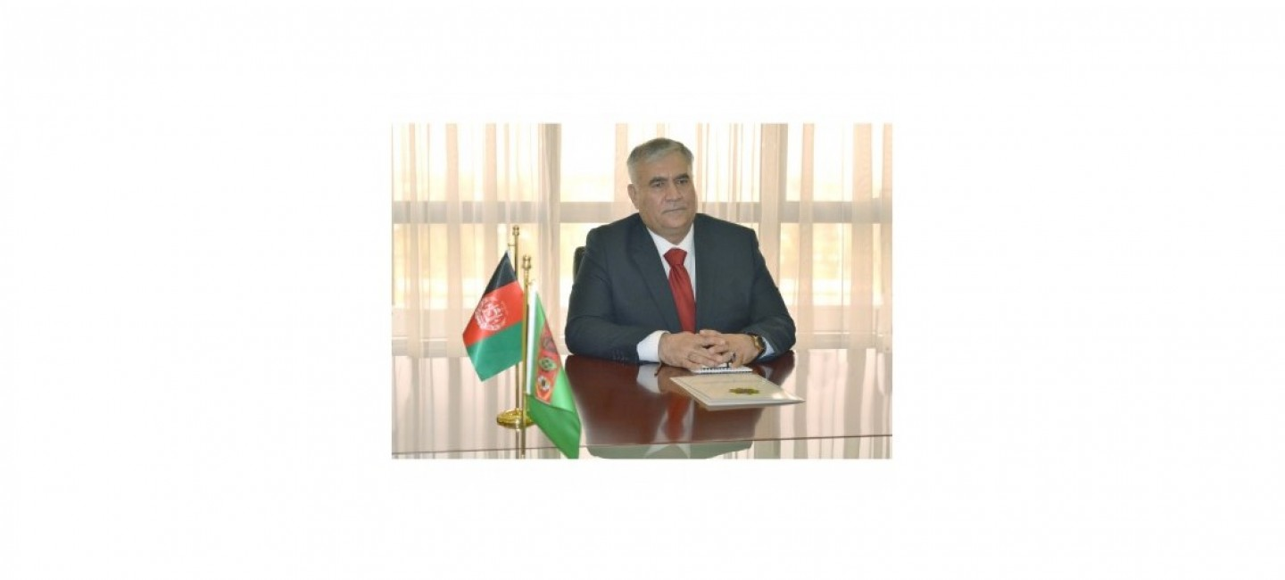 NEW CONSUL GENERAL OF AFGHANISTAN IN MARY AWARDED CONSULAR EXEQUATUR
