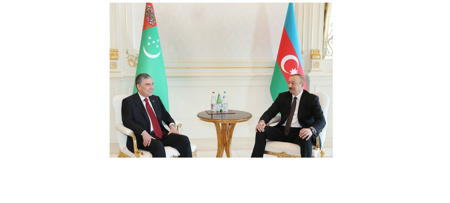 PRESIDENTS OF TURKMENISTAN AND AZERBAIJAN DISCUSSED IN BAKU ISSUES OF EXPANDING AND DEEPENING INTERSTATE COOPERATION