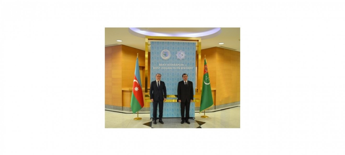VISIT OF THE MINISTER OF FOREIGN AFFAIRS OF THE REPUBLIC OF AZERBAIJAN TO TURKMENISTAN