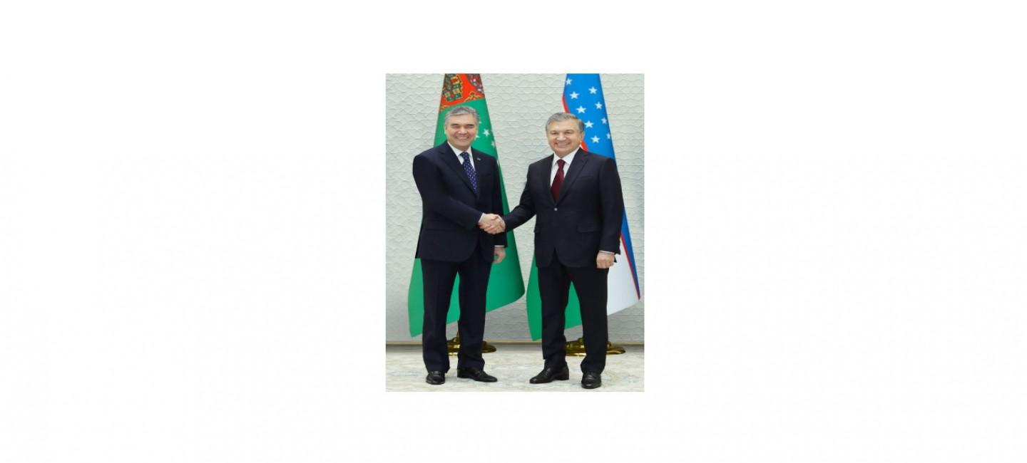THE PRESIDENTS OF TURKMENISTAN AND UZBEKISTAN STAND FOR THE INTENSIFICATION OF THE INTERGOVERNMENTAL DIALOGUE