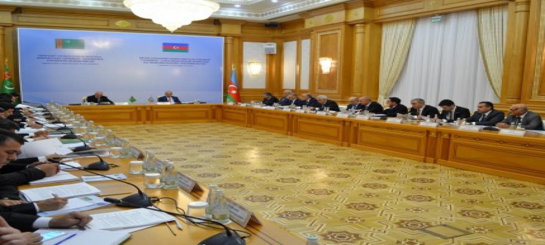 MEETING OF INTERGOVERNMENTAL TURKMEN-AZERBAIJANI COMMISSION FOR ECONOMIC COOPERATION WAS HELD IN ASHGABAT