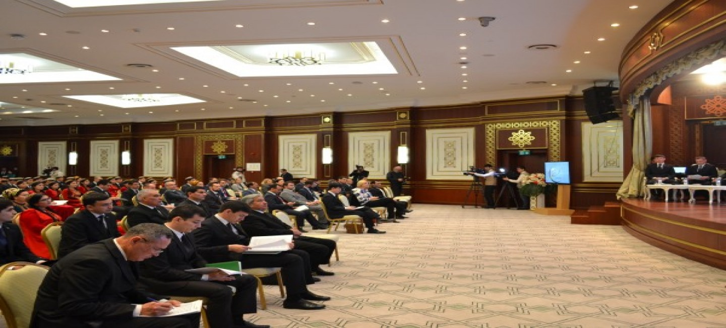 "THE MEDIA FORUM ""THE ROLE OF SPORTS FOR SUSTAINABLE DEVELOPMENT"" HELD IN ASHGABAT"