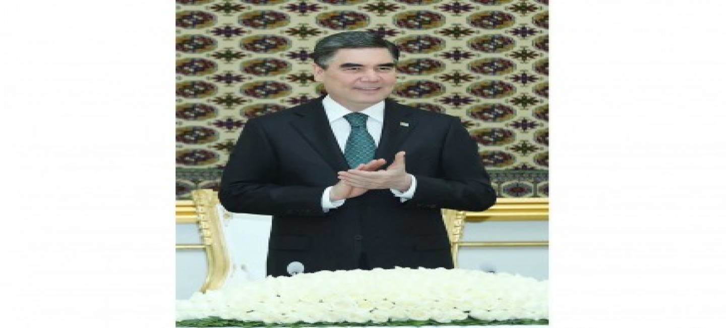 PRESIDENT OF TURKMENISTAN HELD A MEETING IN HONOR OF THE DAY OF SCIENCE