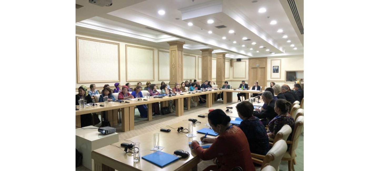 ASHGABAT HOSTED A ROUND TABLE ON DISCUSSING THE IMPACT OF THE ARAL SEA CRISIS AND ENVIRONMENTAL DEGRADATION