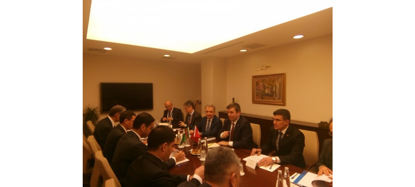 POLITICAL CONSULTATIONS BETWEEN THE MINISTRIES OF FOREIGN AFFAIRS OF TURKMENISTAN AND TURKEY WERE HELD IN ANKARA