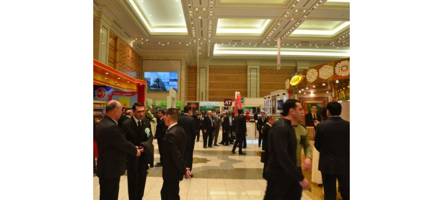 AN EXHIBITION FAIR OF THE UNION OF INDUSTRIALISTS AND ENTREPRENEURS OF TURKMENISTAN OPENED IN ASHGABAT