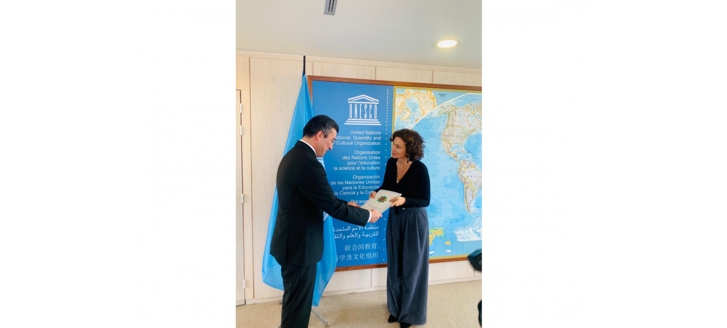 PERMANENT REPRESENTATIVE OF TURKMENISTAN WAS ACCREDITED NEAR UNESCO