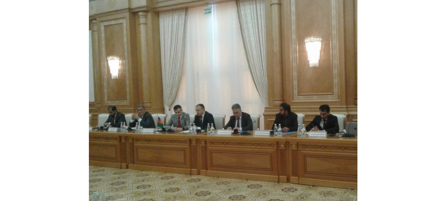 THE REGULAR SESSION OF TURKMEN-AFGHAN COORDINATIVE COMMISSION ON WATER RESOURCES WAS HELD IN ASHGABAT